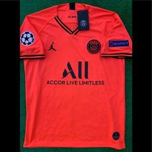 2019/20 PSG away soccer jersey Jordan Mbappe Paris